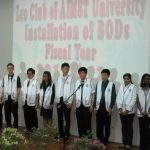 Formation and Installation Ceremony Fiscal Year 2011/12 for Leo Club of AIMST University
