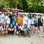 Leo Club of AIMST University at Pantai Merdeka Beach Clean Up 2011
