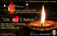 aimst-pre-deepavali-blood-donation-2012