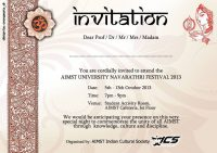 4th-annual-aimst-navarathiri-festival-celebration-invitation