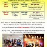 Dance Classes May 2014