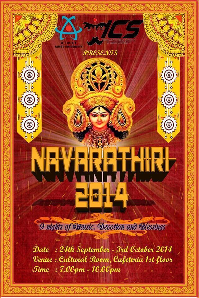 aimst-navarathri-2014