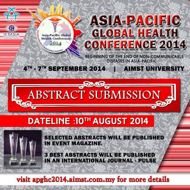 asia-pacific-global-health-conference-2014-abstracts