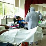 AIMST Leo Club blood donation campaign on 12 & 13th May 2015