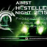 Launching Of The AIMST Hosteller's Night 2015