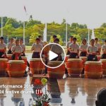 Malaysia Day's Celebration 2015 – 24 Festive Drum Performance