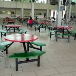 Additional Tables at AIMST Cafeteria