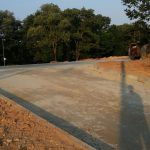 New Car Park at AIMST University Male Hostel Block