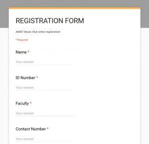 aimst-music-club-registeration