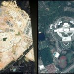 AIMST University in Google Earth Image year 2002 and 2015 compared