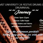 AIMST University 24 Festive Drums Club Drumnival 2016