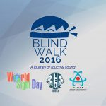 BLIND WALK 2016 – A Journey of Touch and Sound